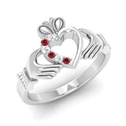 silver bands sterling mens ring claddagh wedding sm p htm