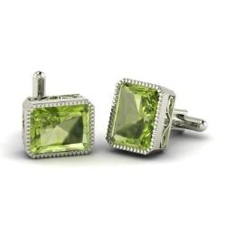 Peridot Mens Jewelry August Birthstone Mens Jewelry Diamondere