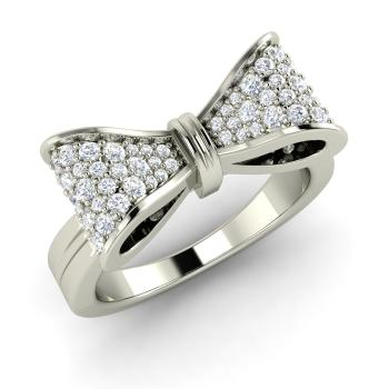 gift girls for rings com bow ring cz pin bling jewelsin stunning