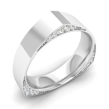 54ab359f59 Dalia Ring with Round SI Diamond | 0.39 carat Round SI Diamond ...