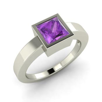 Resultado de imagen para amethyst quartz square ring