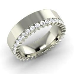 White Topaz Ring In 14k Gold Eloise