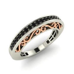 Black Diamond Wedding Ring Black Diamond Wedding Band Diamondere