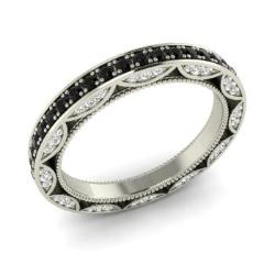 Black Diamond Wedding Ring Black Diamond Wedding Band Diamondere