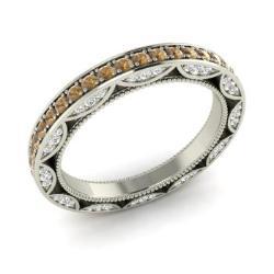 Brown Diamond Wedding Ring Brown Diamond Wedding Band Diamondere