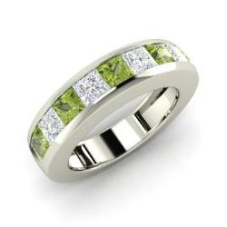 Peridot Mens Jewelry August Birthstone Mens Jewelry Diamondere