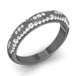 Black Gold Rings For Women Diamondere