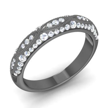 efafd738a Kyne Ring with Round VVS Diamond   0.45 carat Round VVS Diamond ...