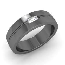 Men S Wedding Bands In Black Gold Men S Rings In Black Gold