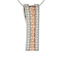 45f383c9673 VVS Diamond Necklace in 14k White Gold - Maidel