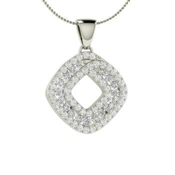 09f3652f6 Malone Necklace with Round VVS Diamond, SI Diamond   0.45 carat ...