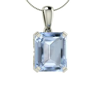 gold white aqua stg fine diamond aquamarine pendants halo img necklace and jewelry item marine gemstone