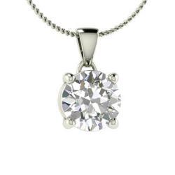 bb6d6c793ef VVS Diamond Necklace in 14k White Gold - Reveka