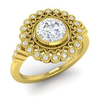 2ca05d86f Rosita Ring with Round I Diamond, SI Diamond   1.14 carat Round I ...