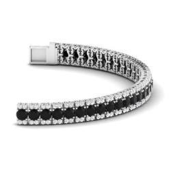 Black Diamond Bracelets For Women