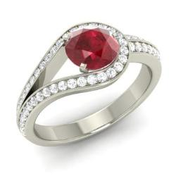 843aa59c2aeef9 Ruby Rings For Women | July Birthstone Rings | Diamondere