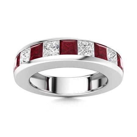 Ruby Men S Wedding Bands Ruby Men S Rings Men S Rings Diamondere Natural Certified
